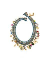 Venessa Arizaga - Multicolor Just Ride Necklace - Cactus - Lyst