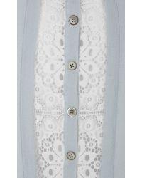 Temperley London - Blue Decker Knit Top - Lyst