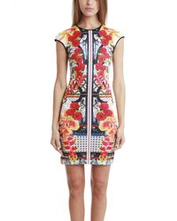 Clover Canyon | Rose Dress Red Multi | Lyst