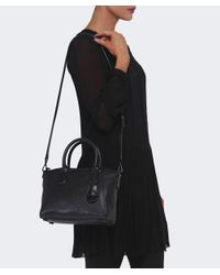 MICHAEL Michael Kors | Black Campbell Satchel Bag | Lyst