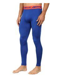 Under Armour | Blue Armour® Heatgear® Compression Legging for Men | Lyst