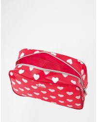 Cath Kidston | Red Pvc Box Toiletry Bag | Lyst