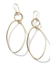 Ippolita | Metallic 18k Gold Glamazon Simple Wavy Snowman Earrings | Lyst