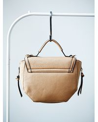 Free People - Brown Womens Zia Vegan Saddle Bag - Lyst