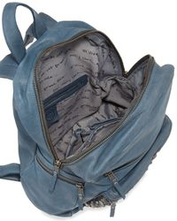 Ash - Blue Backpack Domino Stud - Lyst