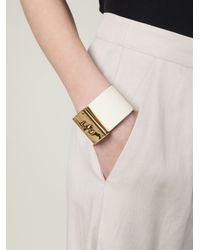 Marc By Marc Jacobs   White Buckled Cuff   Lyst