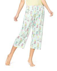 Hue - Blue Berrylicious Capri Sleep Pants - Lyst