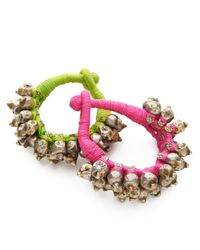 Mara Hoffman | Green Thakur Bracelet | Lyst