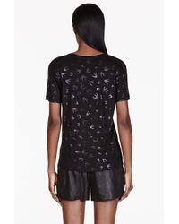 McQ | Black Bird Print Tshirt | Lyst