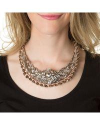 Shourouk | Metallic Mini River Comet Necklace | Lyst