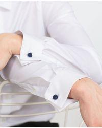 Zara | White Stretch Shirt for Men | Lyst