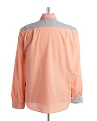 Guess | Orange Douglas Oxford Shirt for Men | Lyst