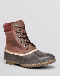 Sorel - Brown Cheyanne Waterproof Boots for Men - Lyst