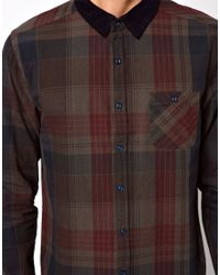 Native Youth | Red Shirt with Elbow Patches for Men | Lyst