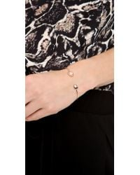 Tai - Metallic Asymmetric Bangle Bracelet - Lyst