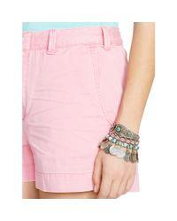 Polo Ralph Lauren   Pink Cotton Chino Short   Lyst