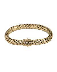John Hardy | Metallic Classic Chain 18k Gold Medium Bracelet | Lyst
