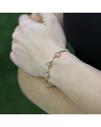 Federica Rettore | Metallic Nodi D'amore Bracelet | Lyst