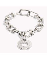 Tommy Hilfiger   Metallic Chunky Link Bracelet   Lyst