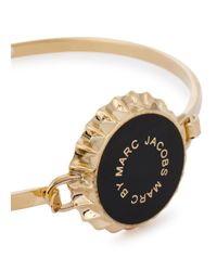 Marc By Marc Jacobs - Metallic Lost And Found Gold Tone Bottle Top Bracelet - Lyst