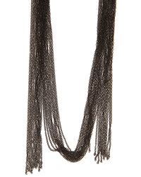 Chan Luu | Blue Beaded Necklace | Lyst