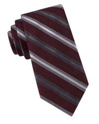 Black & Brown - Purple Multi Stripe Tie for Men - Lyst