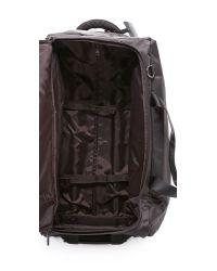 "Lipault | Gray Foldable 2 Wheeled 27"" Duffel Bag - Grey | Lyst"