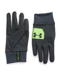 Under Armour | Gray Coldgear Infrared Core Gloves for Men | Lyst