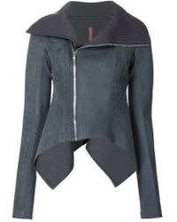 Rick Owens Lilies - Blue Nasa Biker Jacket - Lyst