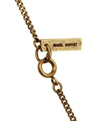 Isabel Marant - Orange Beaded Tassel Necklace - Lyst