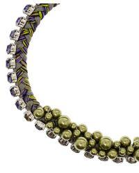 Joomi Lim - Green Necklace - Lyst
