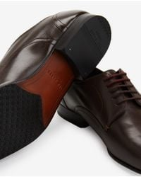 Ted Baker | Brown Leather Derby Shoes for Men | Lyst