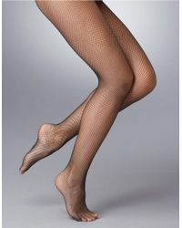 Hue | Black Fishnet Stockings | Lyst