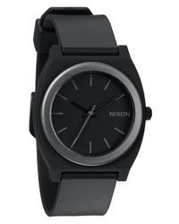 Nixon - Black 'the Anodaze Time Teller' Watch - Lyst