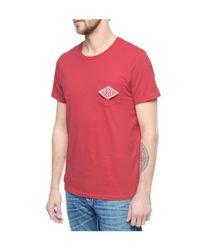 True Religion | Red Hand Picked Pocket Motor Mens Tee for Men | Lyst