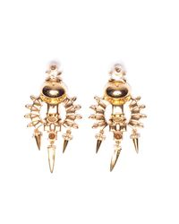 Lizzie Fortunato | Metallic City Landscape Earrings | Lyst