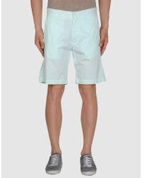 Maison Kitsuné | Blue Shorts for Men | Lyst