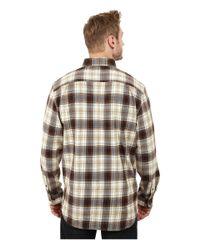 Carhartt - Brown Trumbull Plaid Long Sleeve Shirt for Men - Lyst