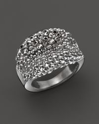 Roberto Coin - Metallic Sterling Silver Stingray Concave Ring - Lyst