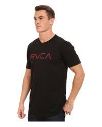 RVCA | Black Big Tee for Men | Lyst
