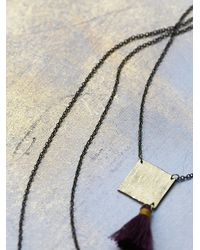 Free People | Multicolor Geography 541 Womens White Sands Necklace | Lyst