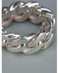 Vibe Harsløf - Metallic Chain Ring - Lyst