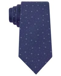 Kenneth Cole Reaction | Blue Floral Geo Slim Tie for Men | Lyst