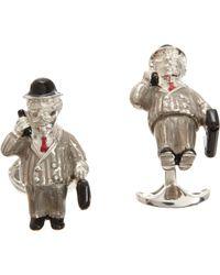 Deakin & Francis - Metallic Business Men Cufflinks for Men - Lyst