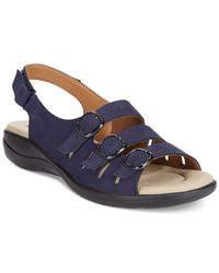 Clarks - Blue Collection Women's Saylie Medway Flat Sandals - Lyst