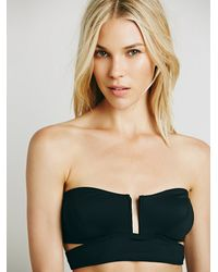 Free People | Black Intimately Womens Such A Square Bandeau | Lyst