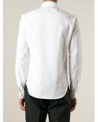 McQ - White Swallow Print Shirt for Men - Lyst