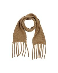 Marina Yachting - Brown Oblong Scarf - Lyst