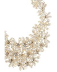 Coast - White Fenella Pearl Collar Necklace - Lyst