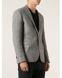Les Hommes - Black Classic Blazer for Men - Lyst